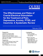 The Effectiveness and Risks of Cranial Electrical Stimulation
