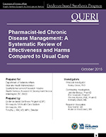 Pharmacist-led Chronic Disease Management: A Systematic Review of Effectiveness and Harms Compared to Usual Care