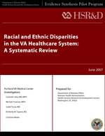 Cover of Racial and Ethnic Disparities in the VA Healthcare System