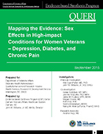Sex Effects in High-impact Conditions for Women Veterans – Depression, Diabetes, and Chronic Pain