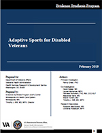 Systematic Review - Adaptive Sports for Disabled Veterans