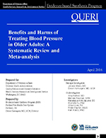 Benefits and Harms of Treating Blood Pressure in Older Adults: A Systematic Review and Meta-analysis