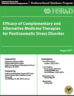 Efficacy of Complementary and Alternative Medicine Therapies for Posttraumatic Stress Disorder (August 2011)