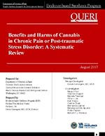 Benefits and Harms of Cannabis in Chronic Pain or Post-traumatic Stress Disorder: A Systematic Review