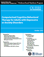 Computerized Cognitive Behavioral