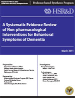 Non-pharmacological Interventions for Behavioral Symptoms of Dementia