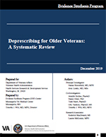 Systematic Review - Deprescribing for Older Veterans: