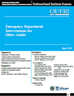 Emergency Department Interventions for Older Adults