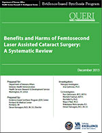 Benefits and Harms of Femtosecond Laser Assisted Cataract Surgery: