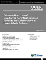 Use of Intradialytic Parenteral Nutrition (IDPN) to Treat Malnutrition in Hemodialysis Patients