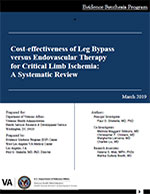 Systematic Review - Cost-effectiveness of Leg Bypass versus Endovascular Therapy for Critical Limb Ischemia: A Systematic Review
