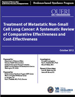 Treatment of Metastatic Non-Small Cell Lung Cancer: A Systematic Review of Comparative Effectiveness and Cost-Effectiveness (October 2012)