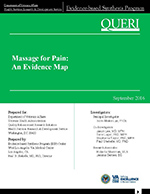 Massage for Pain: An Evidence Map