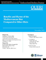 Benefits and Harms of the Mediterranean Diet Compared to Other Diets