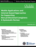 Mobile Applications and Internet-based Approaches for Supporting Non-professional Caregivers (November 2012)