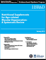 Nutritional Supplements for Age-related Macular Degeneration: A Systematic Review (January 2012)