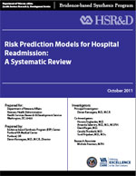 Risk Prediction Models for Hospital Readmission: A Systematic Review (October 2011)