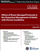 Effects of Nurse-Managed Protocols in the Outpatient Management of Adults with Chronic Conditions