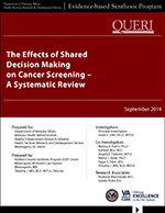 The Effects of Shared Decision Making on Cancer Screening