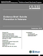 Suicide Prevention in Veterans