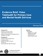 Evidence Brief: Video Telehealth for Primary Care and Mental Health Services