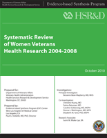 Systematic Review of Women Veterans Health Research 2004-2008