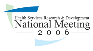 2006 HSR&D Meeting Logo