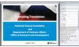 Promoting Translation webinar