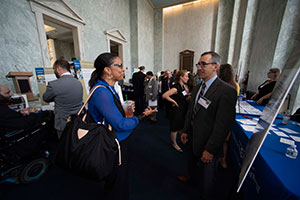 Walid Gellad, MD, MPH (R) at VA Research Day on the Hill.