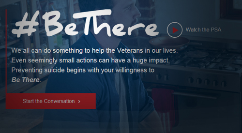 BeThere Campaign for Suicide Prevention