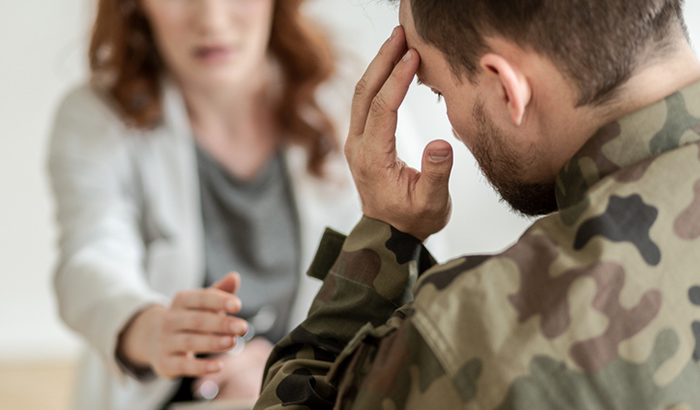 From Screening to Treatment: Mapping Access to Care Pathways for Veterans who Screen Positive for PTSD