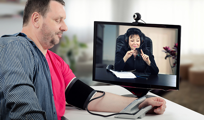 Adherence to the Use of Home Telehealth Devices by Veterans with Heart Failur