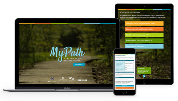 The MyPath tool provides reproductive decision support via web and mobile access.
